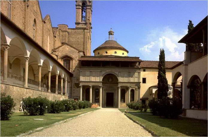 Капелла пацци флоренция италия арх