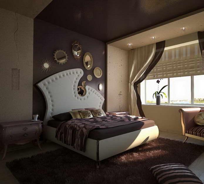 Стиле ар деко дизайн спальни в стиле